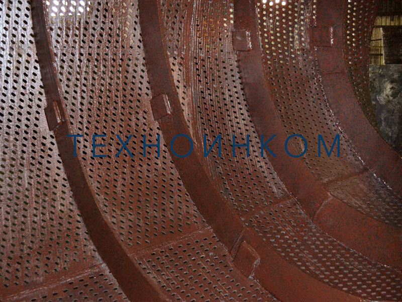 Trommel screen